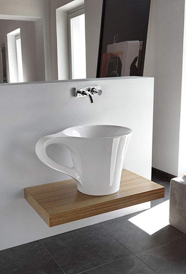 bagni strani il particolare fa la differenza, Disegni interni