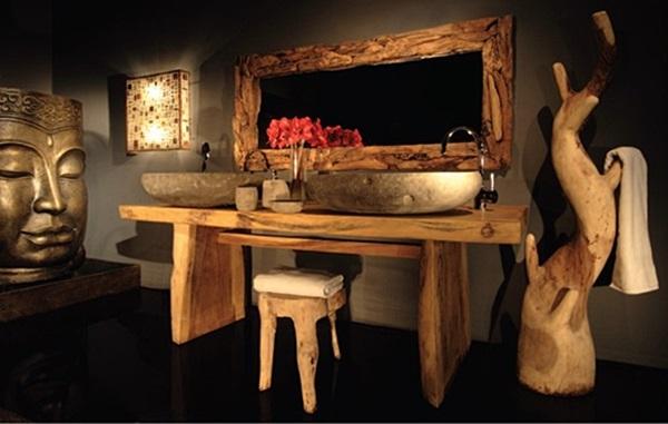 Arredo bagno stile orientale design casa creativa e - Arredo bagno stile etnico ...