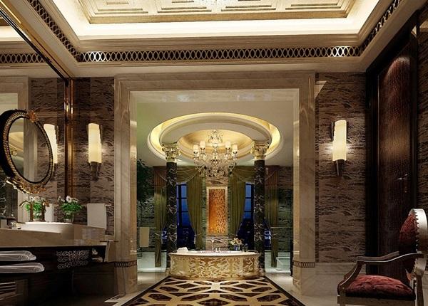 Lusso ed eccesso ecco i bagni dei vip for Bagni lusso design