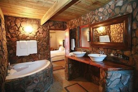Arreda il tuo bagno con lo stile rustico - Bagno casa di campagna ...