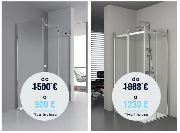 Promozione grandform la tua nuova cabina doccia aqualight for Cabine vecchio stile