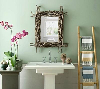 Arredare il bagno con fiori e piante idee utili - Bagno feng shui ...