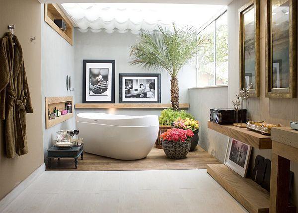 Arredare il bagno con fiori e piante idee utili - Come fare per andare in bagno ...