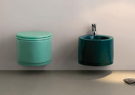 Rinnova il tuo bagno con i sanitari colorati