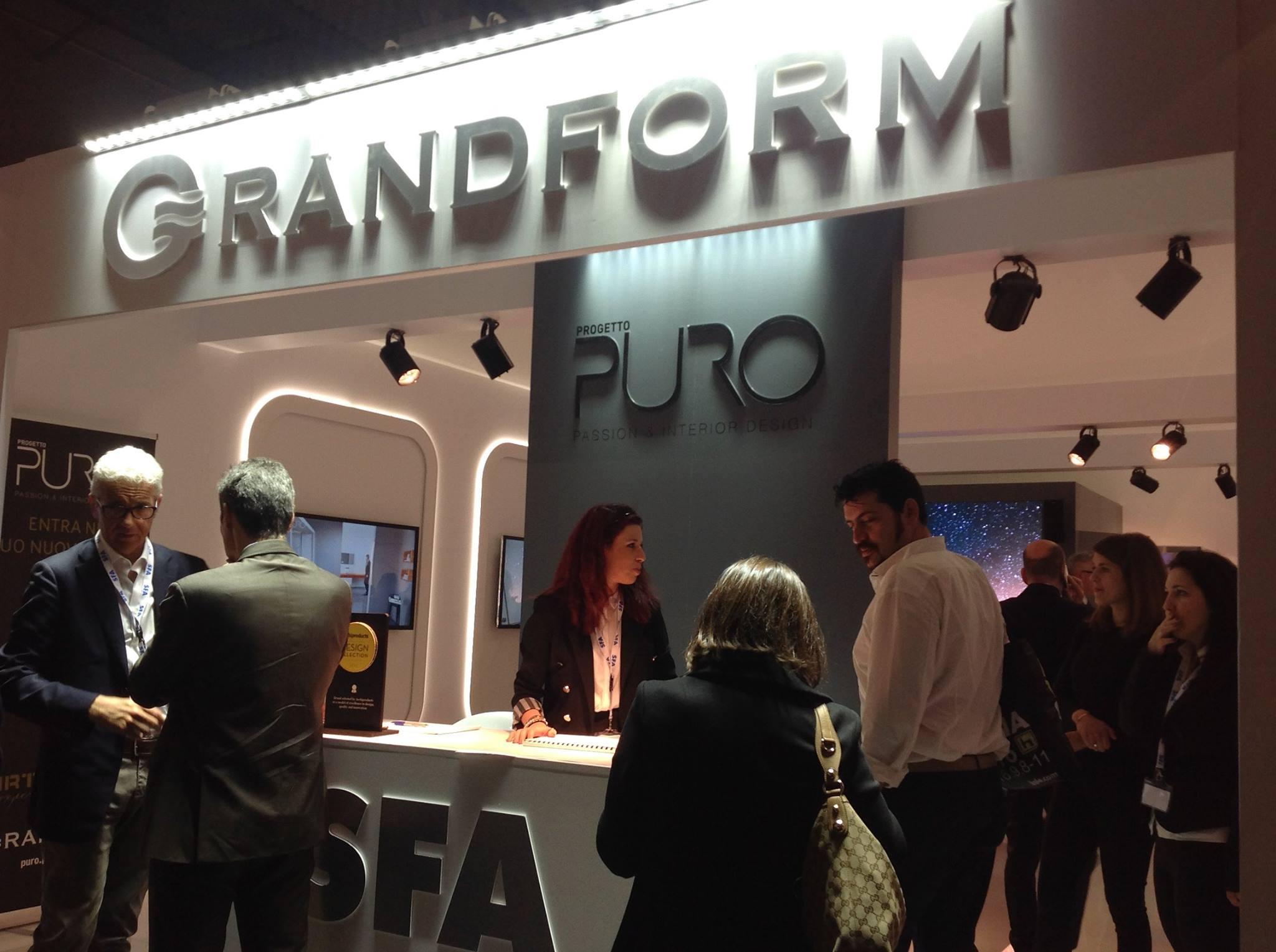 Grandform vi aspetta al salone del mobile di milano for Salone di mobile milano