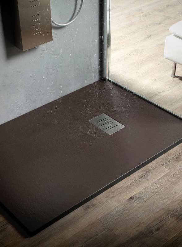 Doccia a filo pavimento si no perch waterpassion - Piatti doccia in vetroresina ...