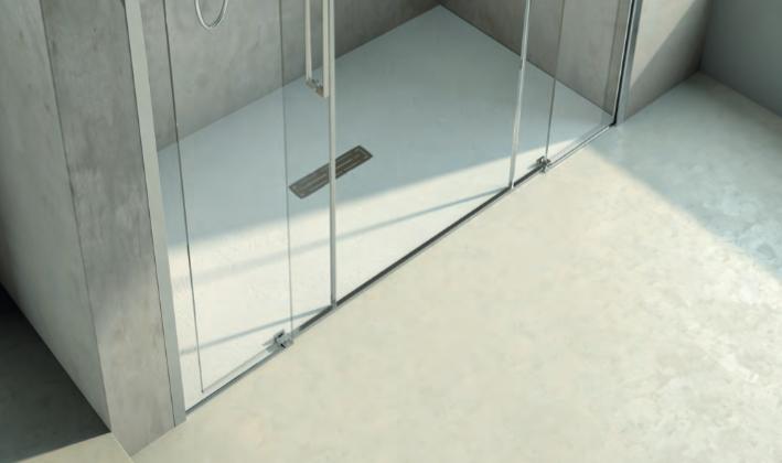 Scegliere il piatto doccia della forma e grandezza ideali