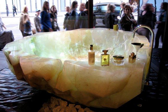 La vasca da bagno più costosa mai realizzata nella storia